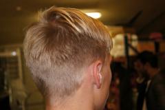 Herre hår backstage